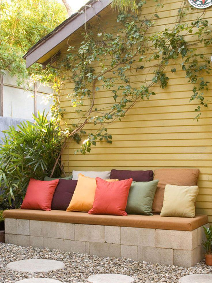 y otro banc projects to try pinterest bancs parpaing et jardins. Black Bedroom Furniture Sets. Home Design Ideas