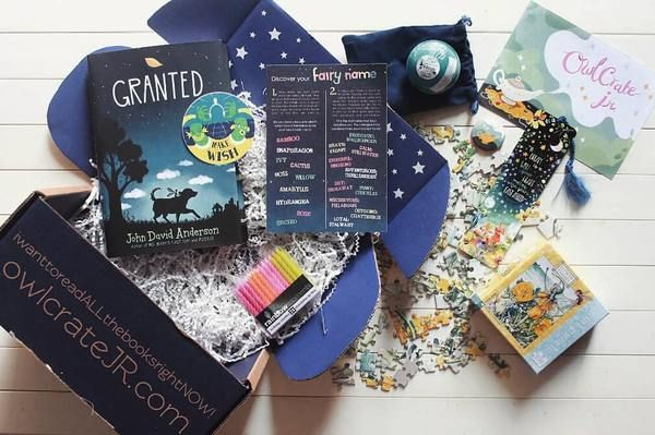 Cool Gift Ideas For Tween Girls Owlcrate Book Subscription Box Subscription Boxes For Kids Book Subscription Box Holiday Gift Guide