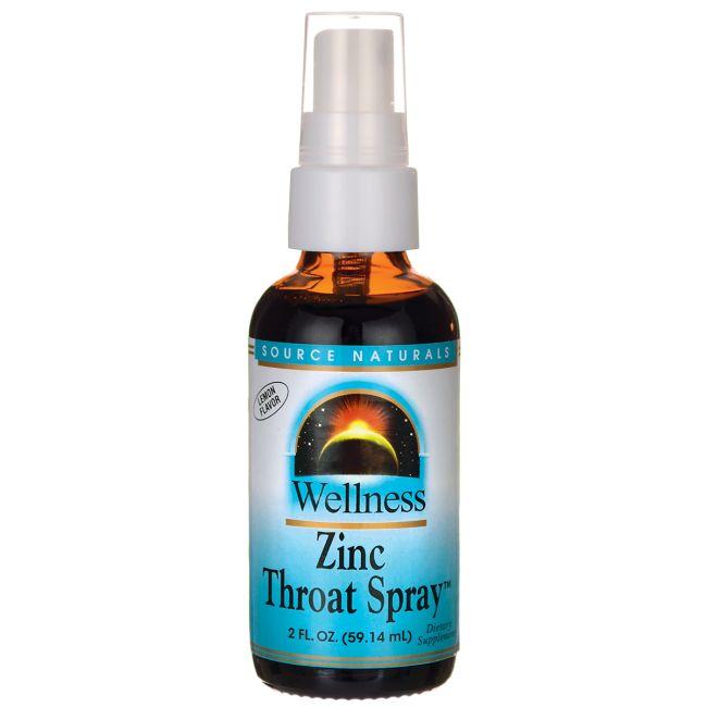 Wellness Zinc Throat Spray  Lemon Flavor, 2 fl oz (59.14 mL) Liquid AED160.00 #UAESupplements