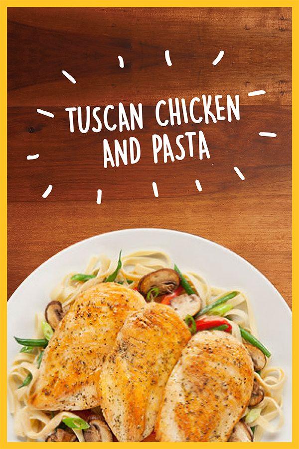 Get the Recipe: Tuscan Chicken Pasta