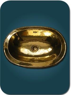 vasque marocaine pour lavabo en cuivre jaune moroccan. Black Bedroom Furniture Sets. Home Design Ideas