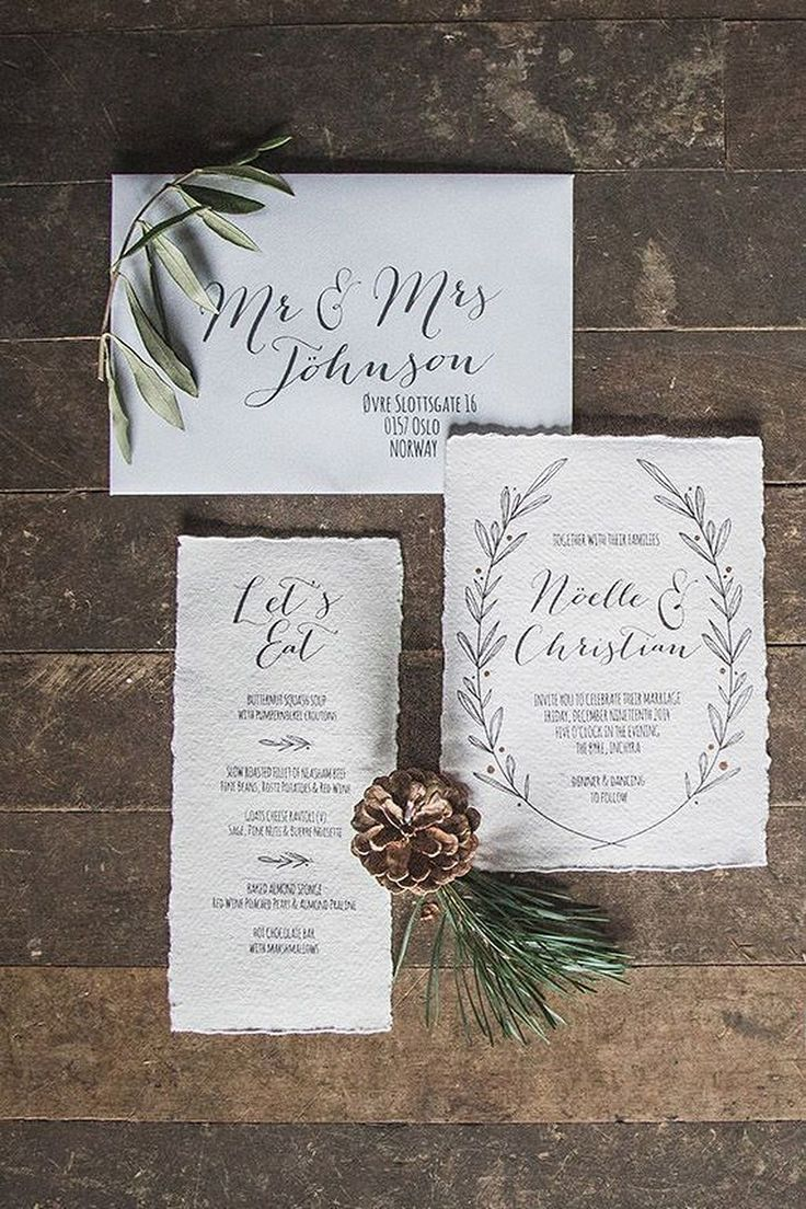 The Best Forest Wedding Invitations Ideas On Pinterest Wood