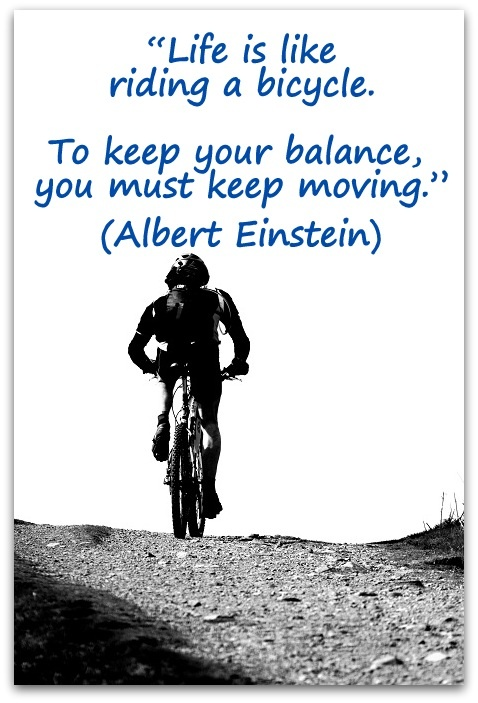 Albert Einstein Quotes Life Is Like Riding A Bicycle: 399 Best Images About Quotes And Thoughts On Pinterest