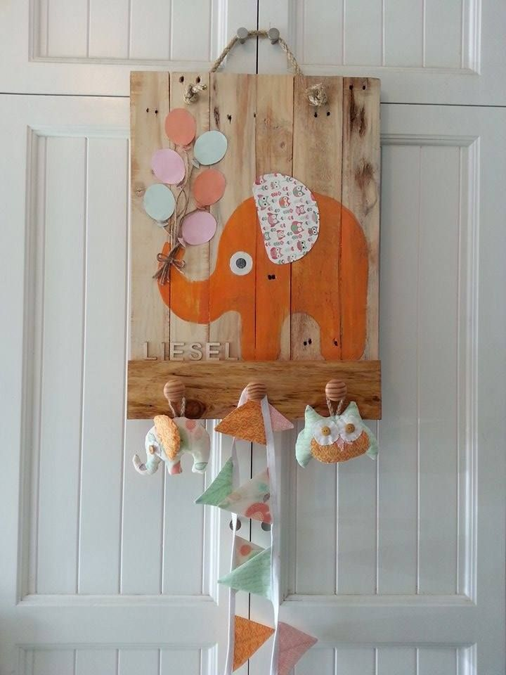 Apparently I spelled the name wrong..but it was easily fixed.  only letters hot glue gunned.  Loved the way my little stuffed toys came out as I'm not much of a sewer and the baby bunting was an extra to be hung somewhere else in the nursery to tie the whole scheme together.