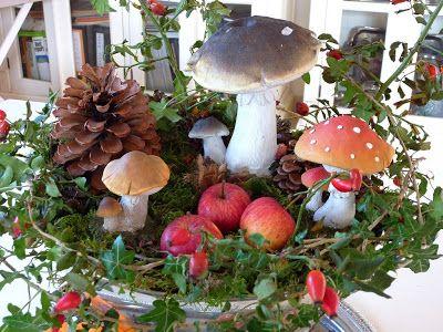 ♥♥ Bluemli-Garten ♥♥: Bunte Herbstdekorationen im Haus und Garten
