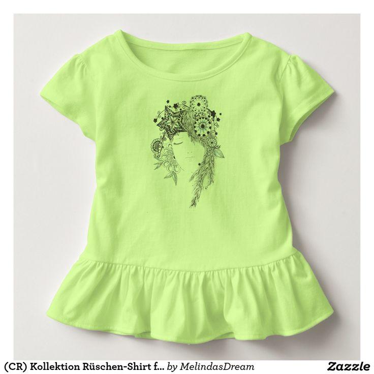 (CR) Kollektion Rüschen-Shirt für Kleinkinder Hemden