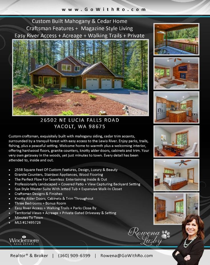 Real Estate for sale at $509,900! Come and view this exquisite three bedroom, two full and one half bath, 2558 square foot two level custom built craftsman style home on a beautiful 2.09 acres with walking trails and easy access to the East Fork of the Lewis River located at 26502 NE Lucia Falls Road, Yacolt, Washington 98675 in Clark County area 66. The RMLS number is 17495726. It has one electric fireplace and a territorial view which includes a view of a river. It was built in 2013 and…
