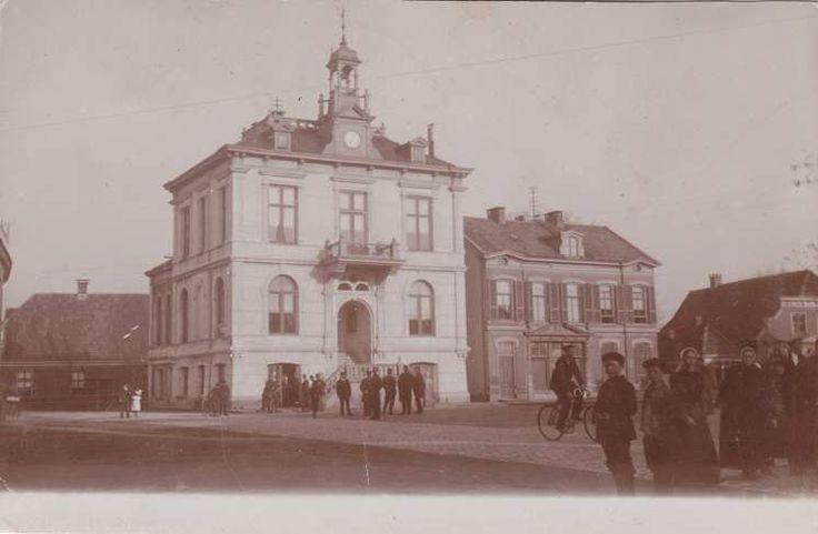 Marktplein Hengelo (jaartal: Voor 1900) - Foto's SERC