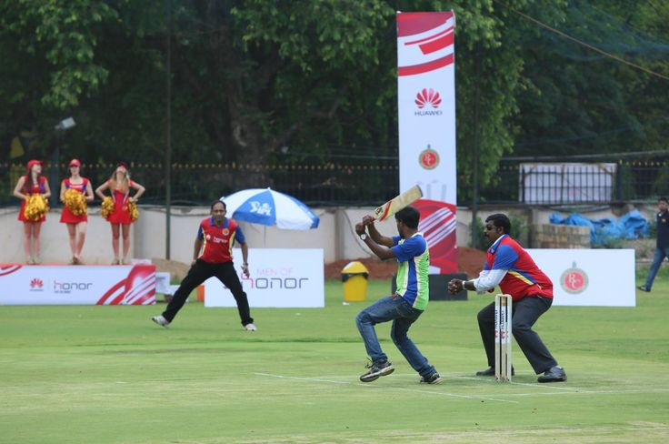 Cricketing moments with Huawei & RCB