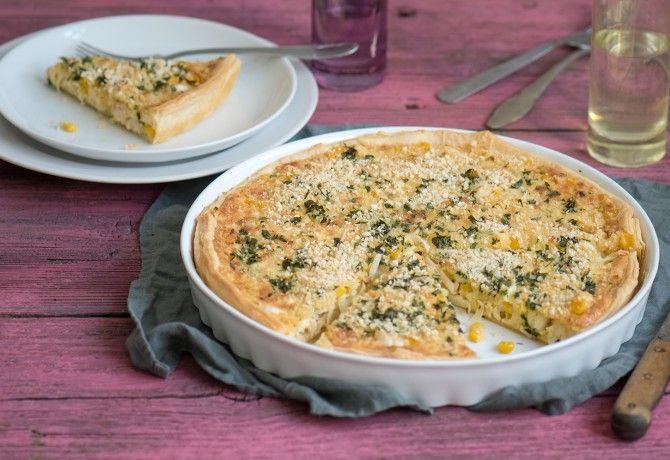 Csirkés-kukoricás pite