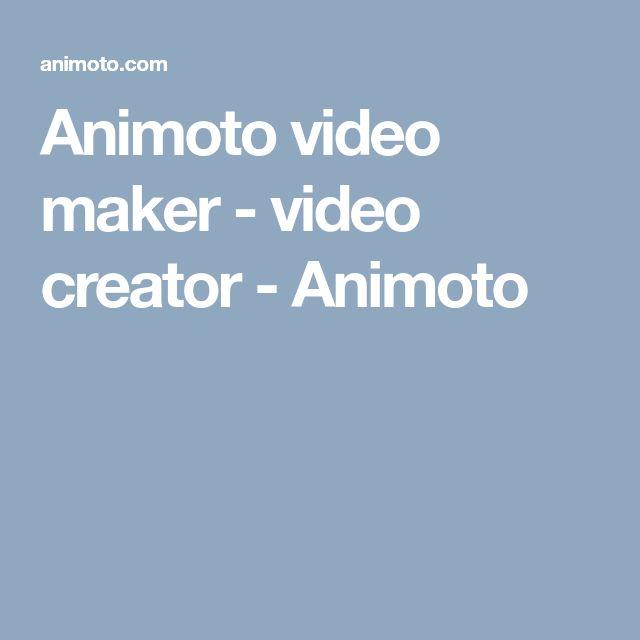 Animoto video maker - video creator - Animoto