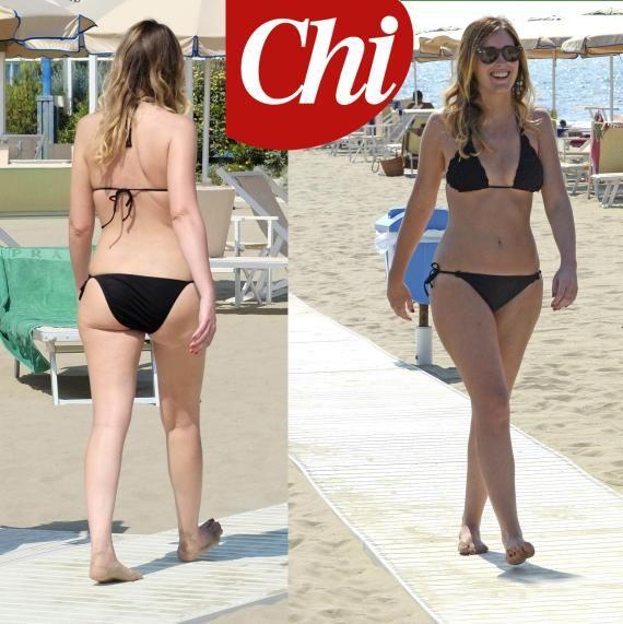 Grognards: Maria Elena Boschi in bikini al mare di Marina di ...