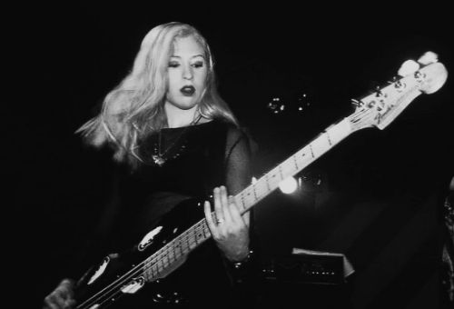 "happy-blood: ""D'arcy Wretzky of Smashing Pumpkins """