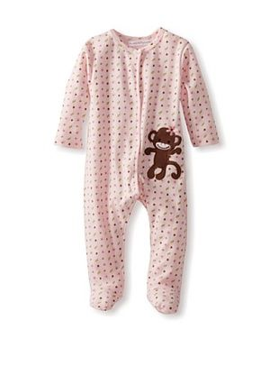 25% OFF Rumble Tumble Baby Long Sleeve Coverall (Pink)