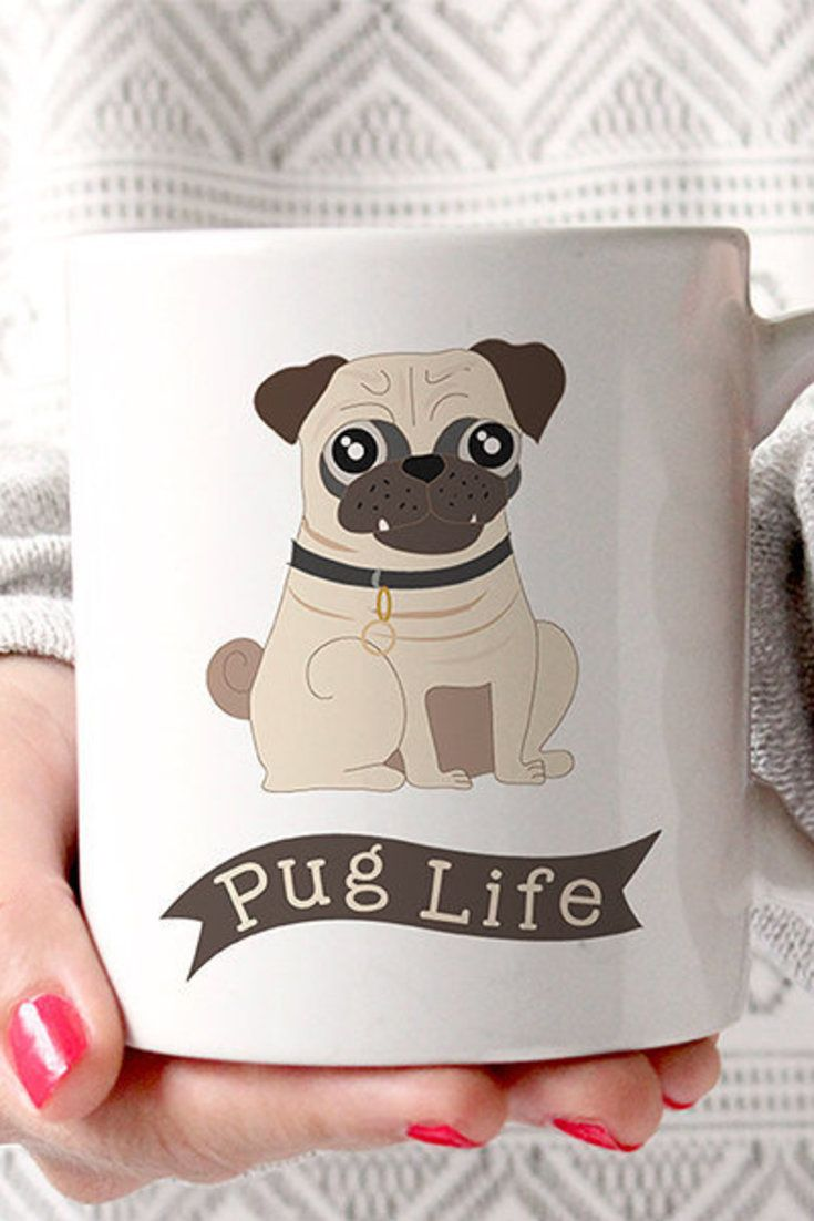 You really need this pug mug in your life