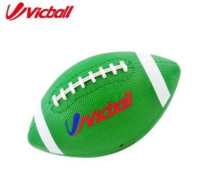 Резиновые Американский Футбол Твердый Резиновый Мяч Зеленый Цвет