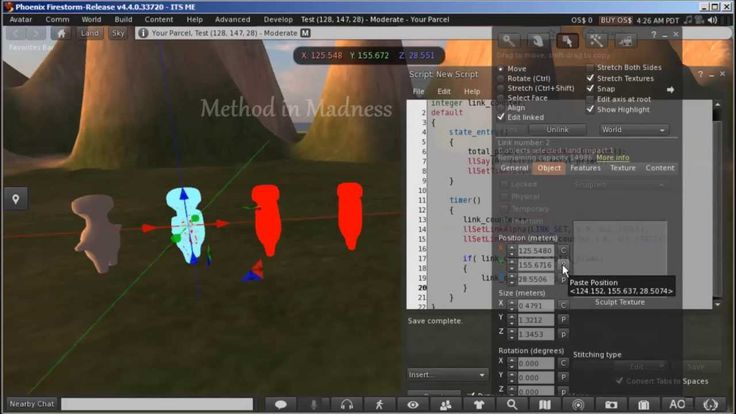 Make Animated Mesh Model For Secondlife And Opensim With