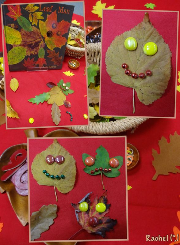 "Leaf Man Transient Art - from Rachel ("",)"