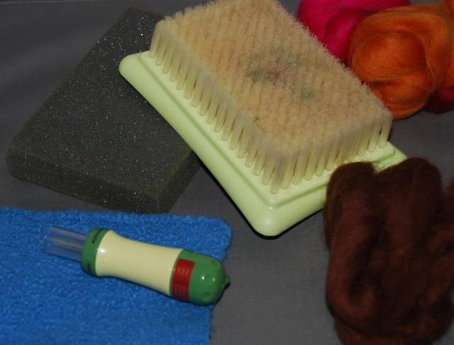 Needle felting is a fun and easy way to add texture and color to knit and felted fabric. It's not difficult to do, but a few needle felting tips will help you to be successful.