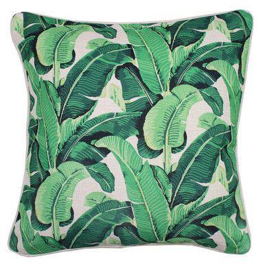 Banana Leaf Cushion  60 x 60cm