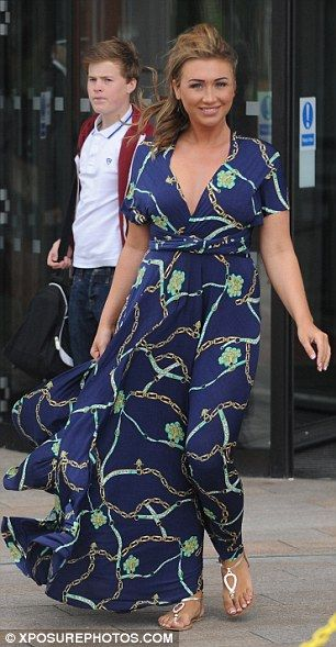 Lauren goodger...beautiful dress!!