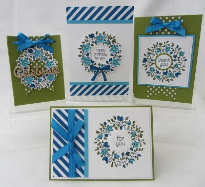 Stamping Moments: Circle Of Spring Stamp Class....