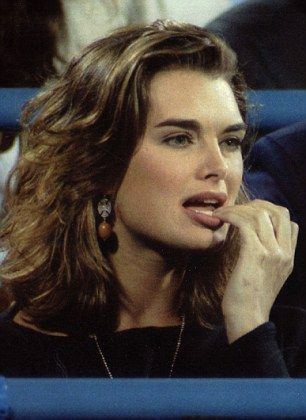 Brooke Shields had been filming a scene in Friends which saw her lick the fingers of Joey...