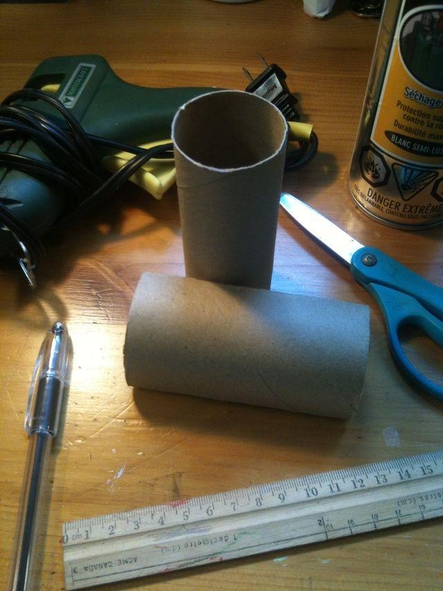 Repurpose paper rolls