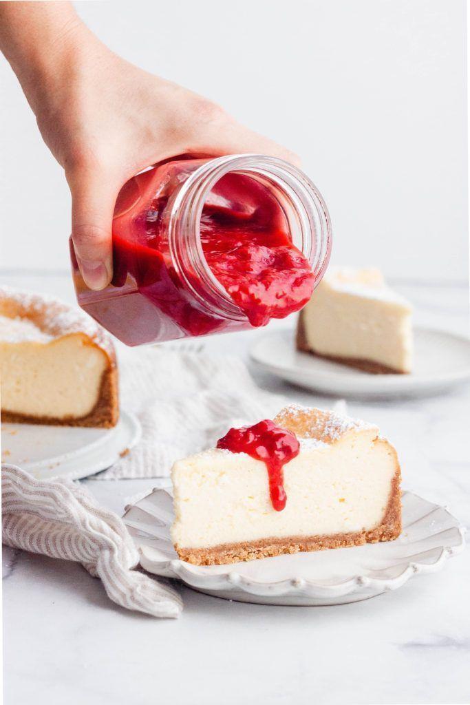 New York Style Cheesecake Rezept Kuchen Und Torten Rezepte Kuchen Und Torten Bester Kasekuchen