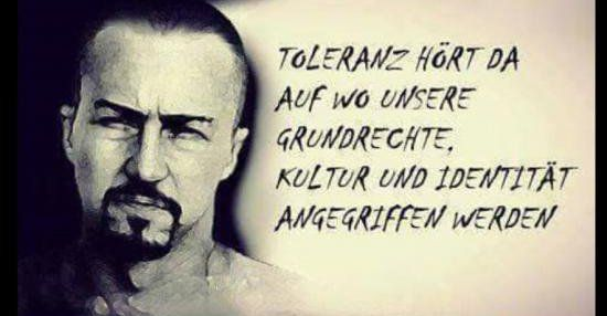 Toleranz hört da auf wo unsere Grundrechte..   Lustige Bilder, Sprüche, Witze, echt lustig
