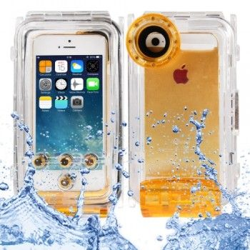 Waterproof Photo Housing Case for iPhone 5 & 5S