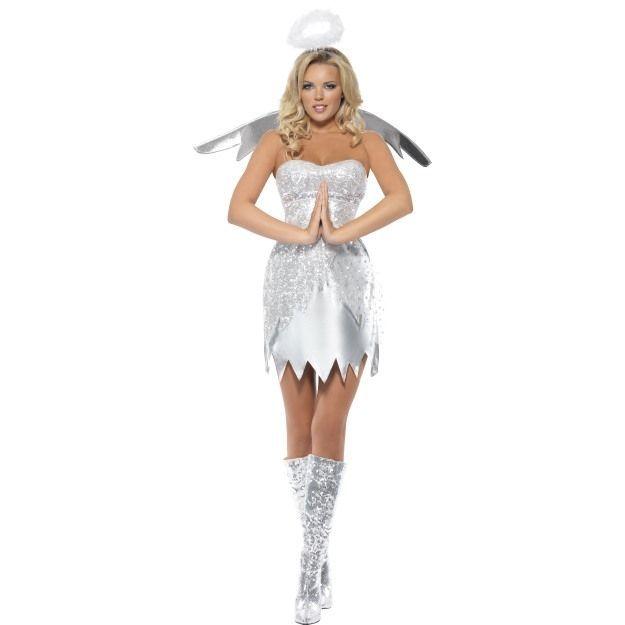 Серебряный костюм Ангелочка для девушки — http://fas.st/lDbOV