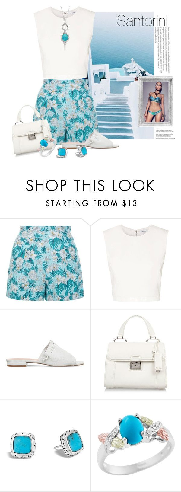 """Untitled #397"" by riuk ❤ liked on Polyvore featuring New Look, Thierry Mugler, Kurt Geiger, Miu Miu and John Hardy"