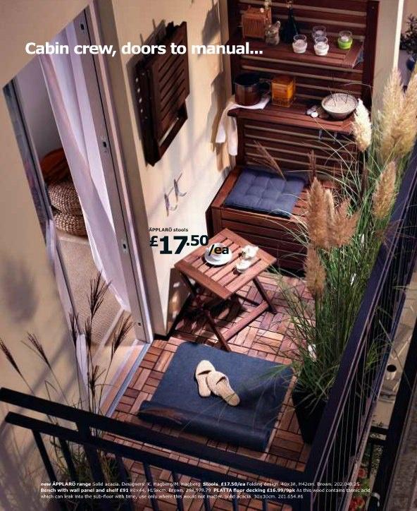I want I want...as a balcony floor