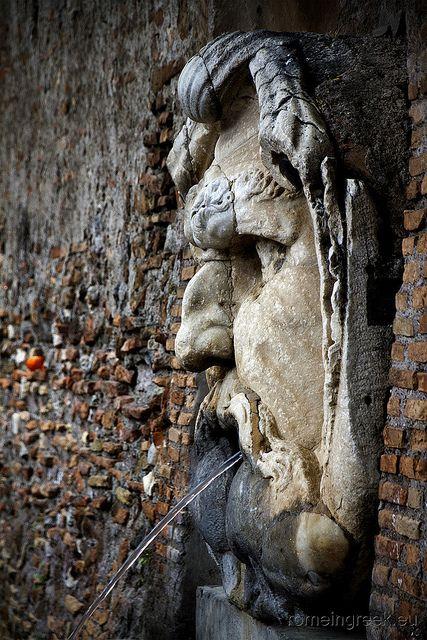 Giardino degli Aranci, fontana Roma.province of Rome Lazio