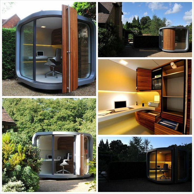 Домашний офис в саду   OfficePOD #домашнийофис #дизайндомашнегоофиса #домашнийофисугловой #officepod