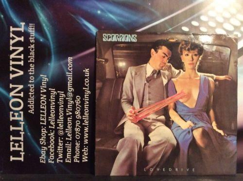 Scorpions Lovedrive LP Album Vinyl Record FA3080 A1/B2 1979 Harvest Rock 70's Music:Records:Albums/ LPs:Rock:Soft