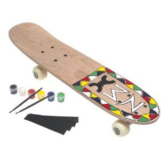Kid Gift: Design Your Own Skateboard. Get creative and be unique.