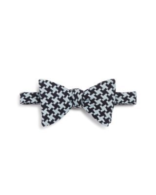 Turnbull & Asser Houndstooth Self-Tie Bow Tie | Bloomingdale's Classic.