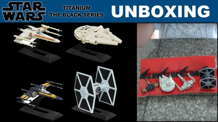 Unboxing | Star Wars: Episode VII Titanium Series Vehicles