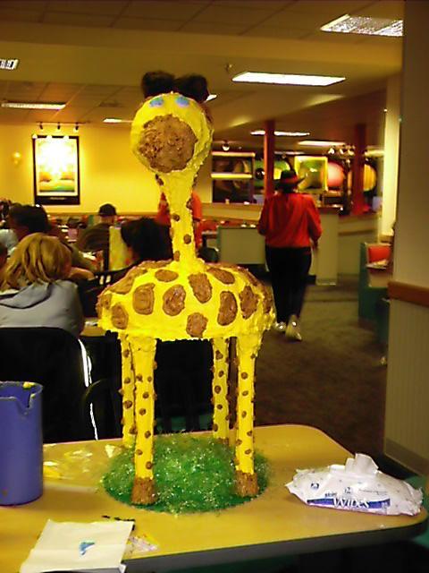 Standing Giraffe Cake - At the cake supply store, buy a wedding cake ...