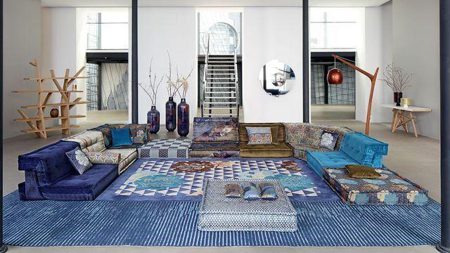Nouvelle Collection Roche Bobois Canape Table Accessoires Deco Idees De Decor Kenzo Maison Deco