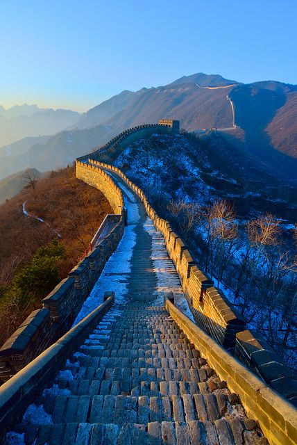 one of the most amazing places I've been! Great Wall of China | by Kamal Zharif