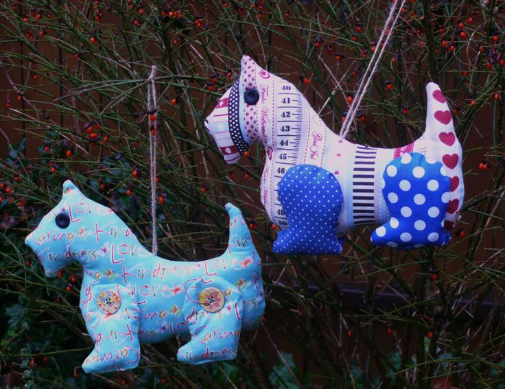 My sewing- Terrier dogs