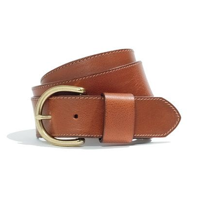 Perfect Leather Belt (If you love preppy style, this is a must-have.)