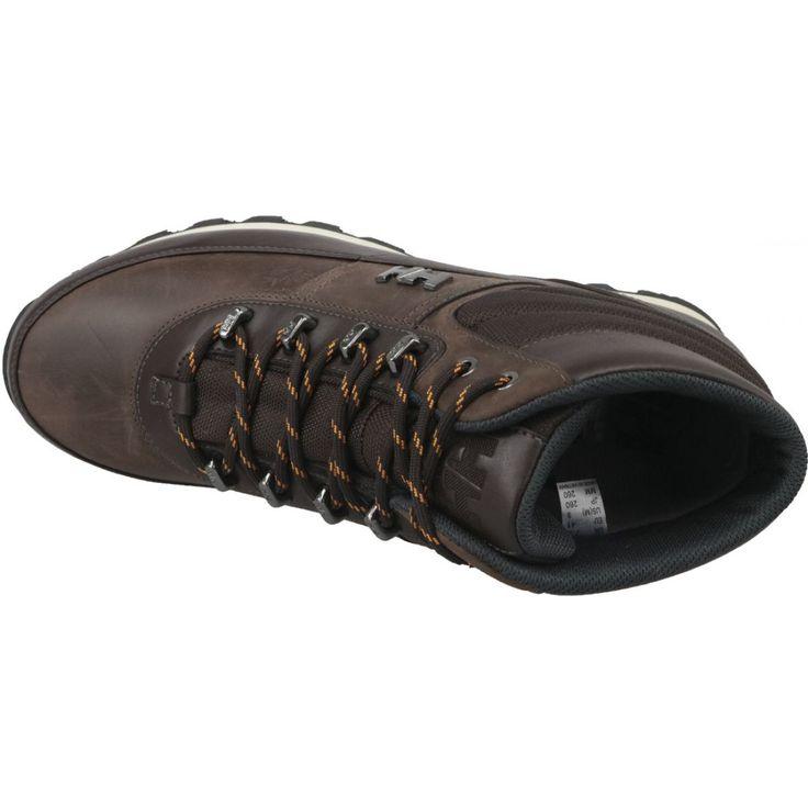 Buty Helly Hansen Woodlands M 10823 710 Brazowe Helly Hansen Leather Shoe Feature