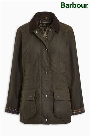 Buy Barbour® Beadnell Wax Jacket from the Next UK online shop