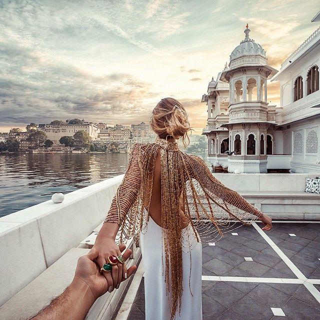 Palácio do Lago, Udaipur - Follow Me Project by Murad Osmann