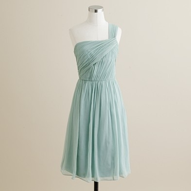 LOVE this sea foam color as a bridesmaid option!