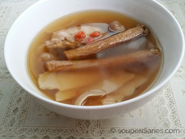 Chinese Herbal Soup (Rice Cooker Recipe) - Souper Diaries